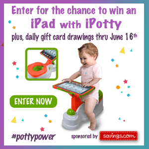 Enter to Win a $10 Target Gift Card (35 Winners) + FREE Potty Training Essentials Prize Pack