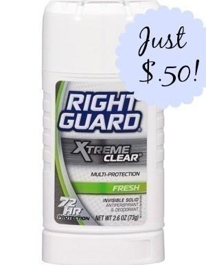 CVS: Right Guard Xtreme $.50 {Print Now}