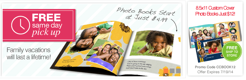 cvs custom 8 5 x 11 photo books just 12 free ship to store