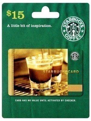 Huggies Enjoy the Ride Members: Score a $15 Starbucks Gift Card for 750 Points