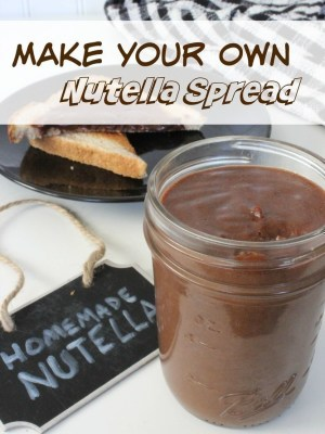 Copycat Nutella {Just 6 Ingredients}