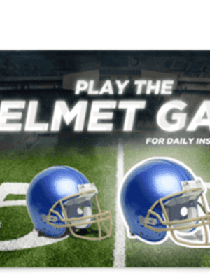 *Reminder* Kroger Helmet Game Sweepstakes | Play Daily for Over $18,000 in Prizes
