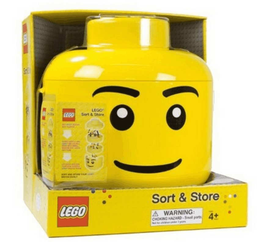 Target: LEGO Sort and Store Storage Bin Head just $23.99 Shipped ...