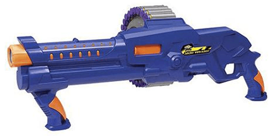 Add to your kids Nerf Gun Collection with the Air Warriors Side Winder Dart  Blaster for $9 (reg. $20) – pick up is FREE in store.