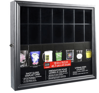 Michael's: Up to 50% OFF Display Cases {Shot Glass Display $29.99}