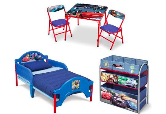 Cars Toddler Bed Set: Walmart: Great Deal On SpongeBob, Disney Cars Toddler Bed