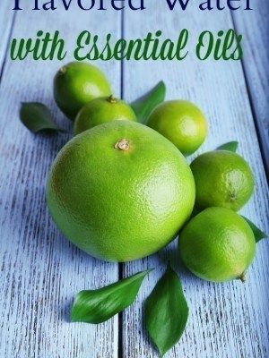 Flavored Water with Essential Oils {Weight Management, Increased Productivity & More}