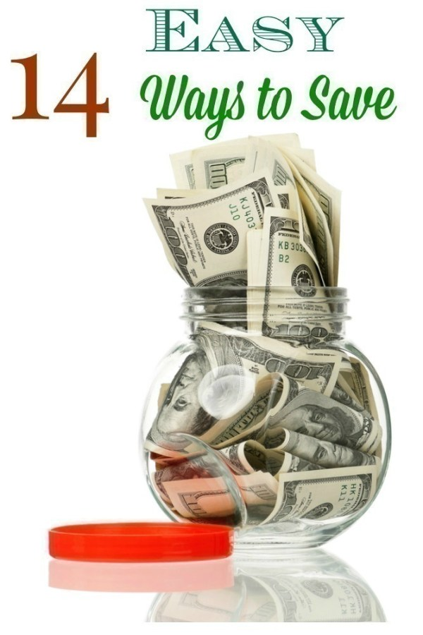 14 Easy Ways to Save