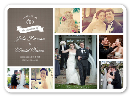 shutterfly 5 free custom photo wedding invitations just pay