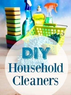 DIY Household Cleaners (Everything from Homemade Bleach to Window Cleaner & More)