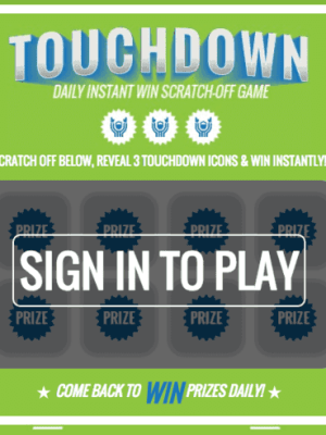 Kroger Game Day Greats Instant Win Game (Over 20,000 Prizes)