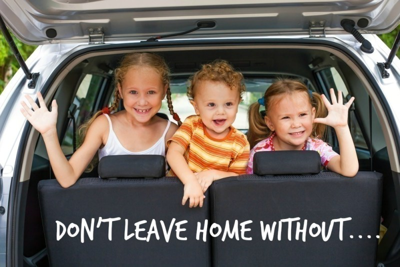 10 MUST Have Items to Carry in the Car When you Have Kids