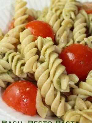Easy Basil Pesto Pasta