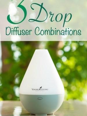 3 Drop Essential Oil Diffuser Combinations
