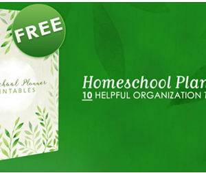 FREE Homeschool Planner Printables