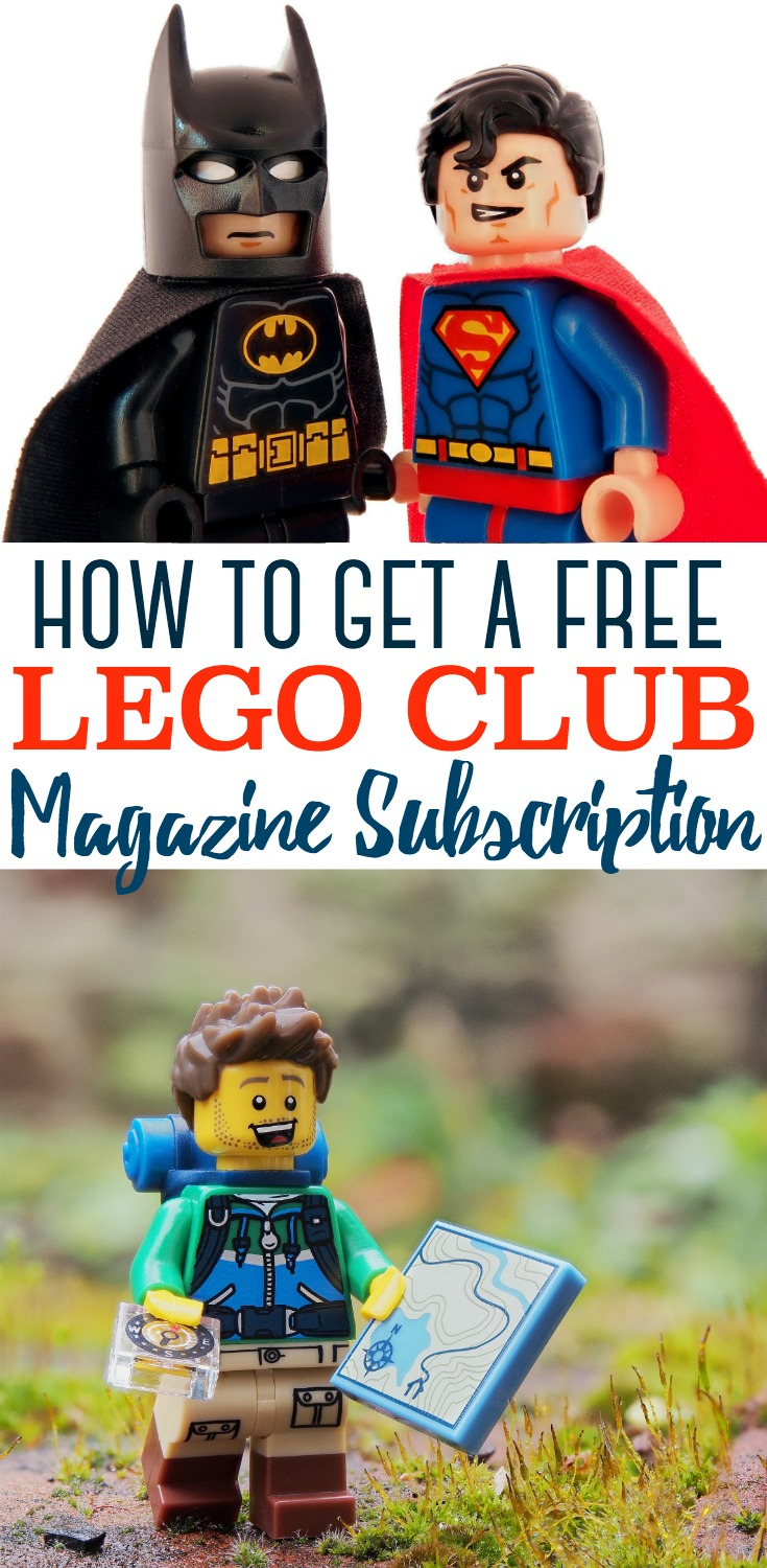 This FREE LEGO Magazine subscription is perfect for any LEGO lover!