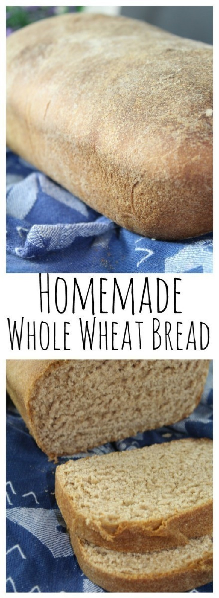 This 100% whole wheat loaf is a delightful combination of hearty wheat, in a fine grain bread with a touch of sweetness.