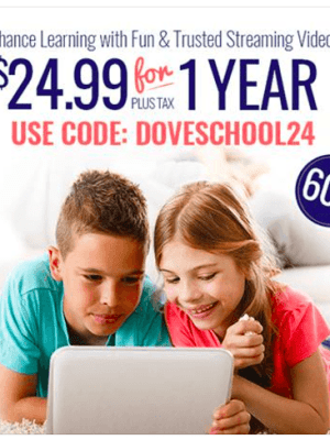 60% OFF 1-Year Subscription to the Dove Channel
