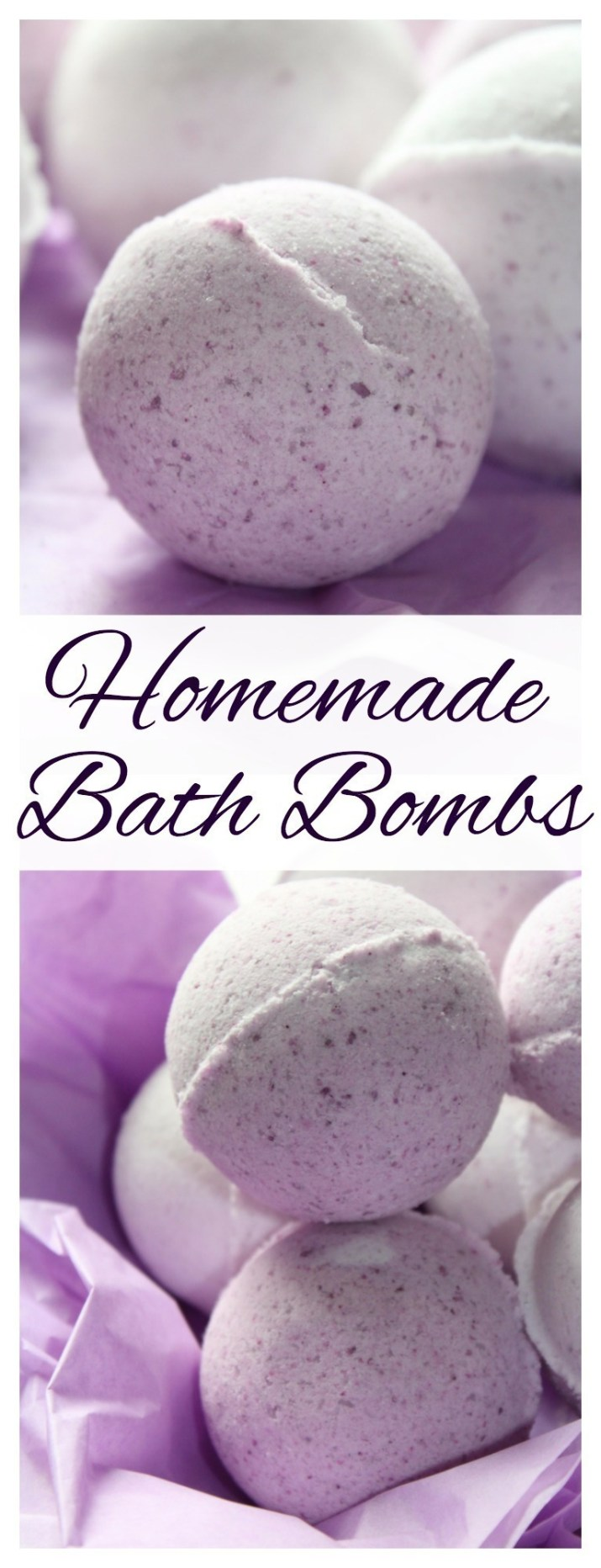 These DIY Bath Bombs are incredibly easy to make - personalize with your own scent and color and give as gifts for Mother's Day, Valentine's Day, birthdays and more.