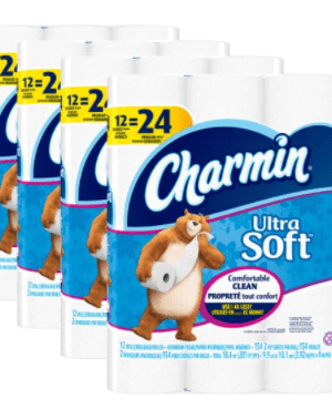 Amazon: Charmin Ultra Soft 48 ct Double Roll $19
