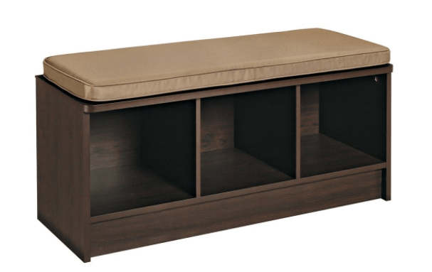 Walmart Has The ClosetMaid 3 Cube Storage Bench For Just $34 U2013 Itu0027s Great  For An Entry Or A Mud Room, Especially If You Pick Up A Few Bins To Put In  The ...