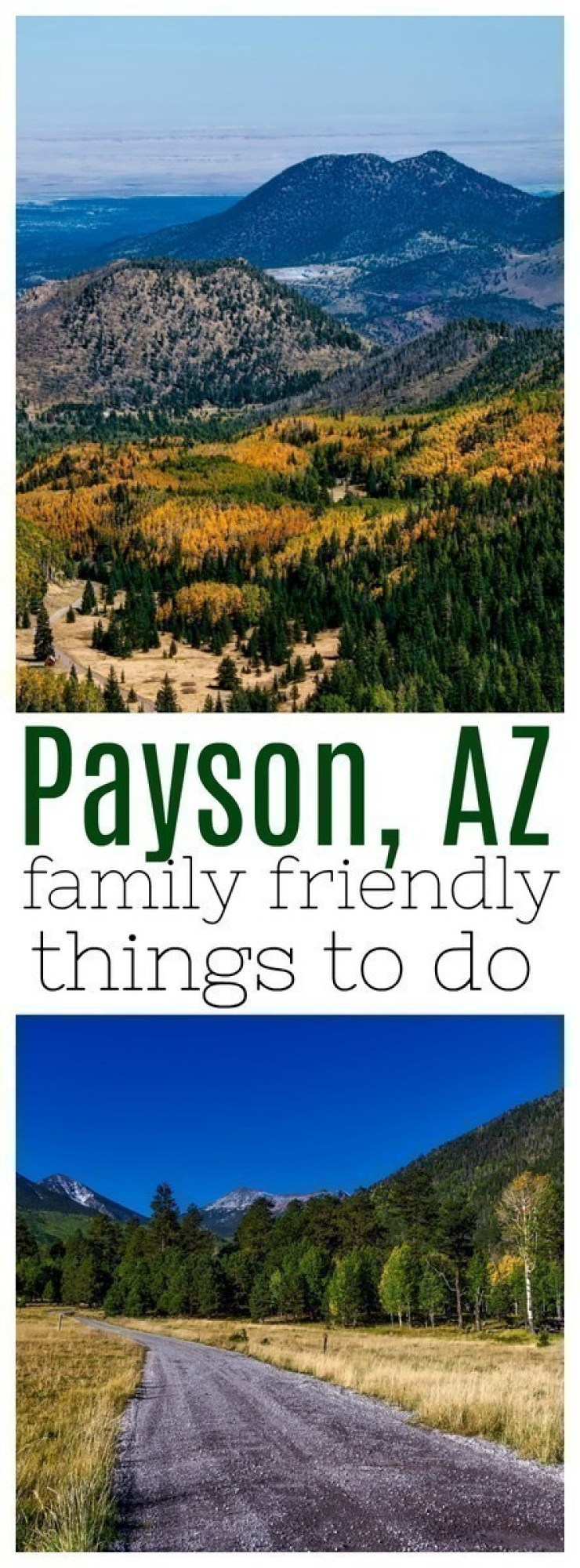 Looking to get out of the heat? Here are over 10 family friendly things to do in Payson!