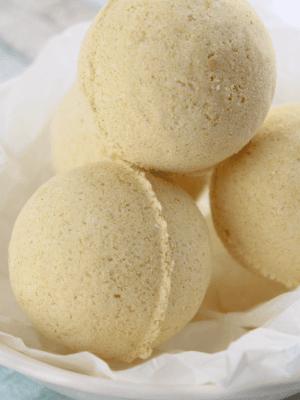 Turmeric Lime Bath Bombs