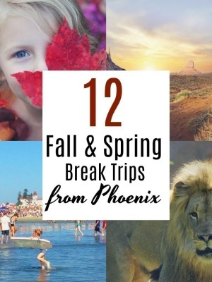 12 Fall and Spring Break Trips from Phoenix
