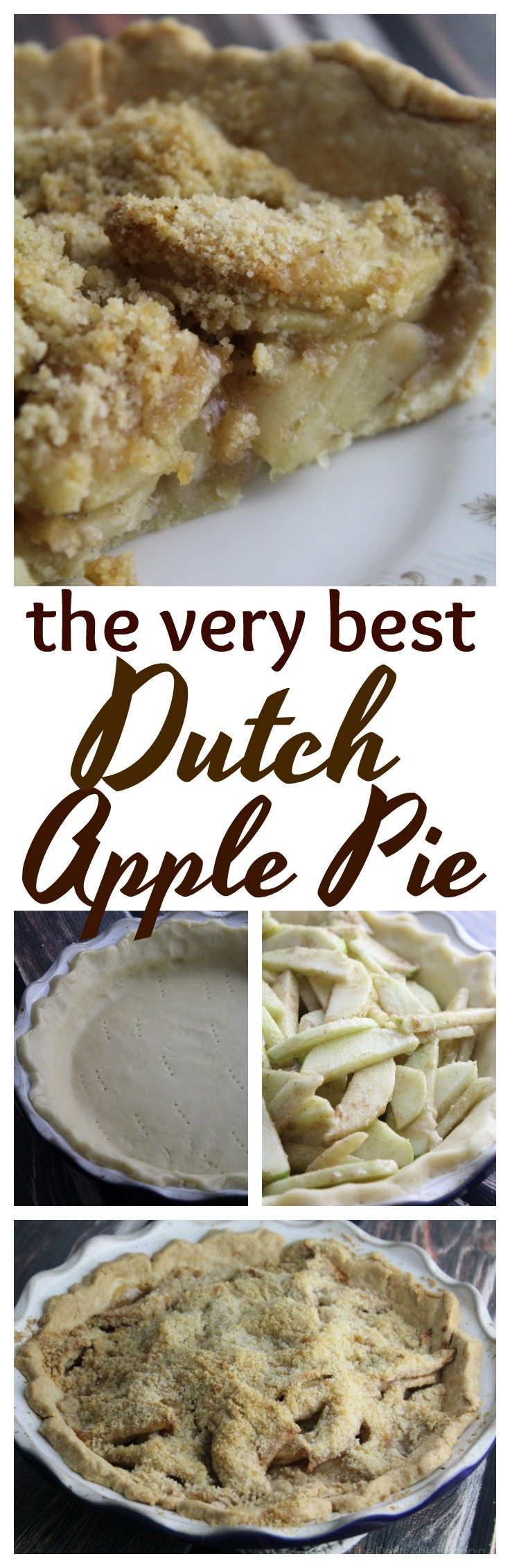 Cooler fall weather is not complete without apple pie - this Dutch Apple Pie is one of the best you will ever eat!