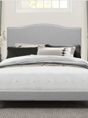JCPenney: Queen Upholstered Bed $199 + FREE Shipping