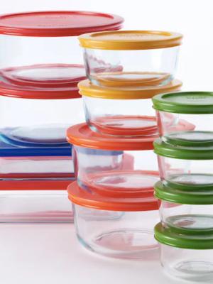 Kohl's: Pyrex 24 pc Glass Set with Lids $15.49