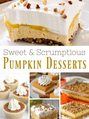 Sweet and Scrumptious Pumpkin Desserts