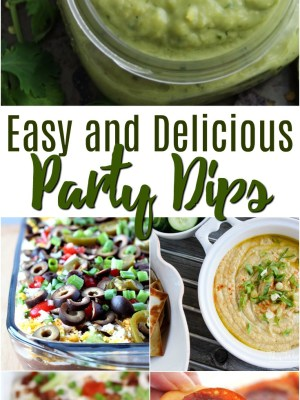 Easy and Delicious Party Dips