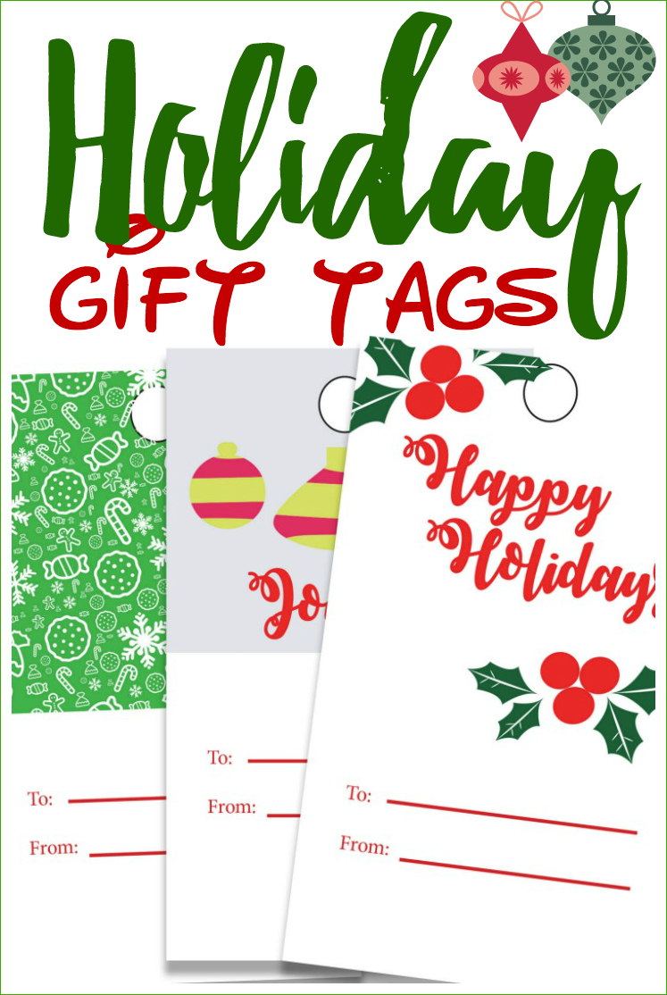 If you are making custom gifts this year for friends and family, sometimes it's fun to add a special touch to your gift without spending extra money. These special gift tags look incredible and will take you just a few minutes to print out and attach to your gift. #printable #holiday #Christmas #gifttags
