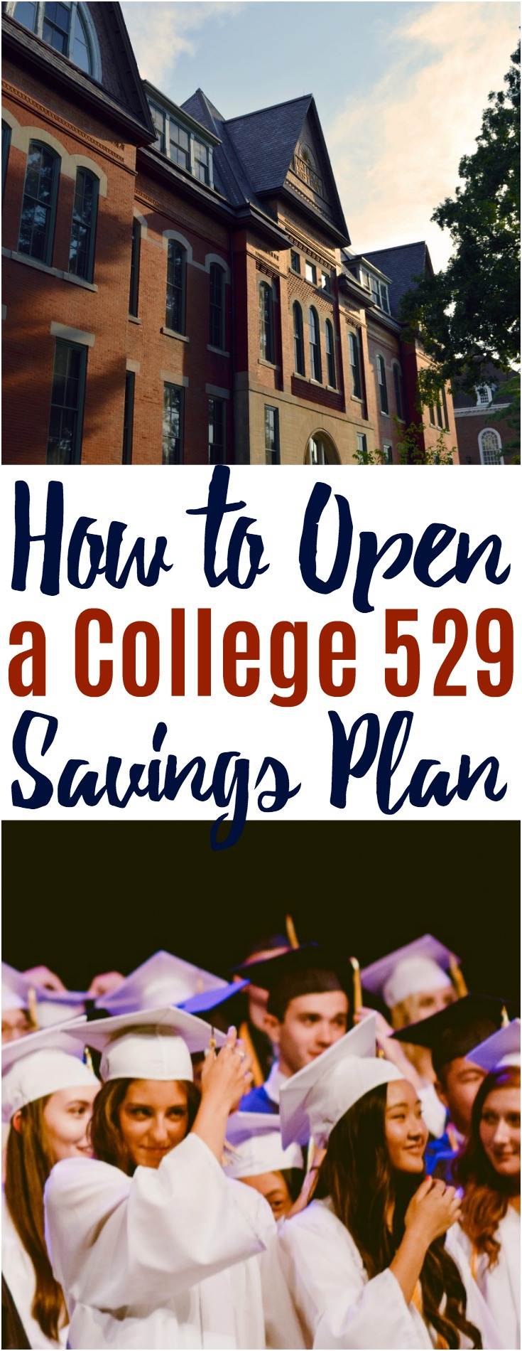 A College 529 plan is a wonderful vehicle to help you save for your child's college. Take these 5 simple steps to help you open a College 529 plan for your child and start saving. #collegesavings #finance #529plan #budget #finance #savingmoney #investing