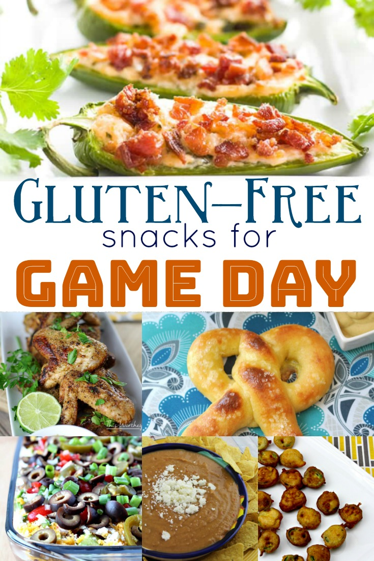 Get ready for the big game day with these easy to prepare Gluten-Free snacks and appetizers! #superbowl #appetizers #glutenfree #football #gameday