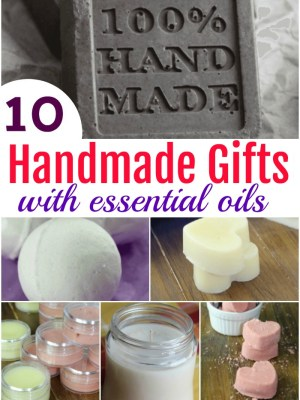 10 Handmade Gifts with Essential Oils