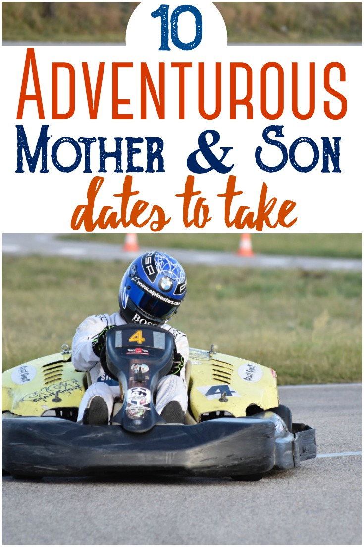 Kids grow so fast - it's important that you hang out with your son frequently. Here are ten adventurous mommy & son date ideas. #date #mommyson #mothersondatenight #dateideas #kids #parenting