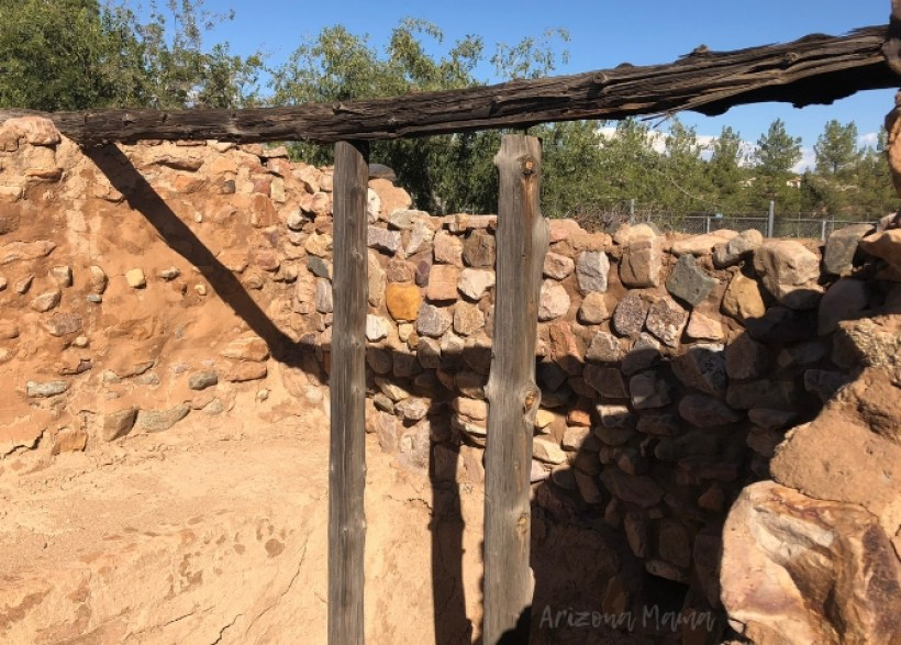 Ancient Salado Archaeological Ruins in Globe, Arizona || Besh Ba Gowah Archaeological Park and Museum is a prehistoric Salado masonry pueblo located one mile southwest of the city of Globe, Arizona.