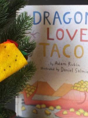 Dragons Love Tacos Christmas Ornament