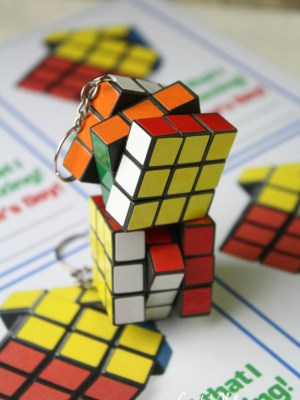 Rubik's Cube Valentine