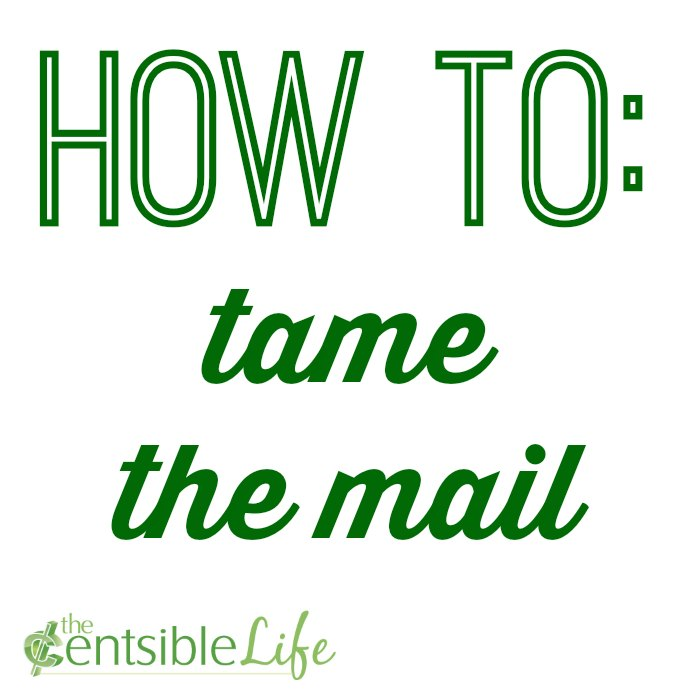 How to tame the mail