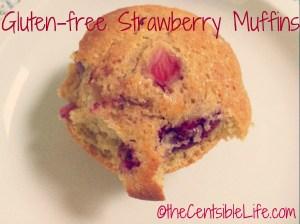Gluten-Free Strawberry Muffins