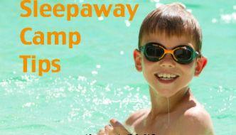 Sleepaway Camp Tips and Packing List