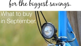 What To Buy In September