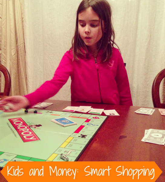 Kids and Money- Smart Shopping