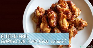 Gluten-Free Barbecue Chicken Wings