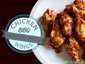 Gluten-Free BBQ Chicken Wings
