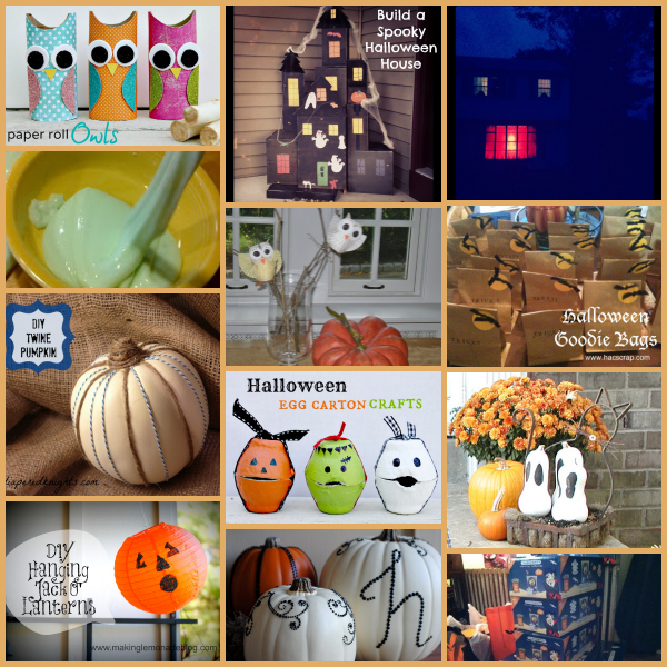 Halloween Crafts and DIY projects