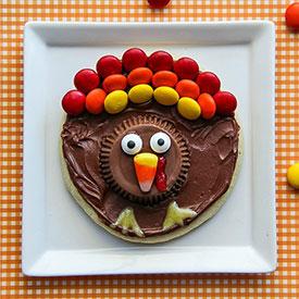 Gluten-Free Turkey Cookies